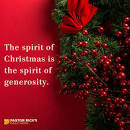 Image result for images of christmas and generosity